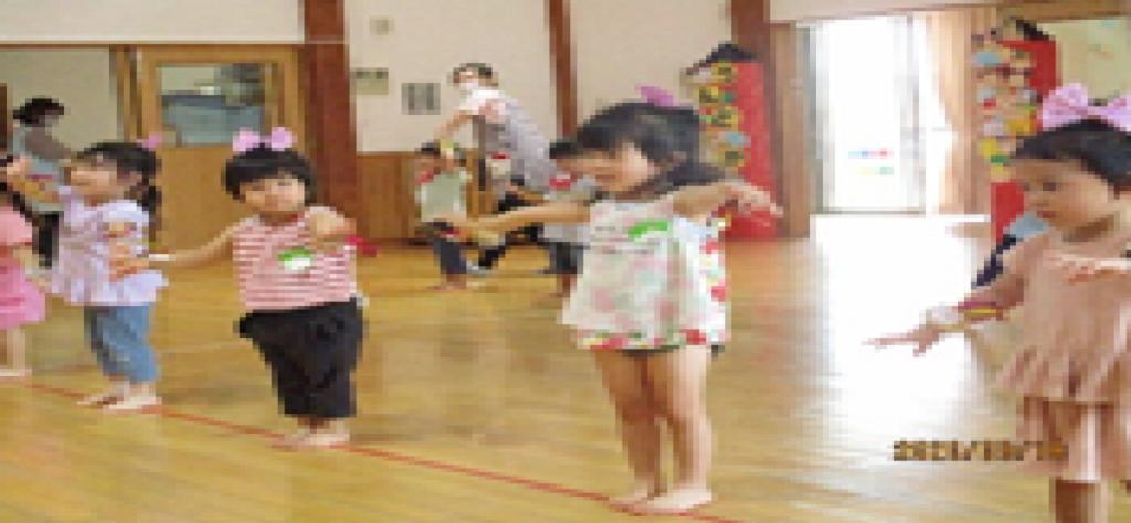 ともっこ保育園・運動会の練習1